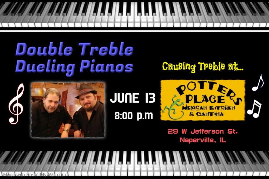Double Treble Dueling Pianos