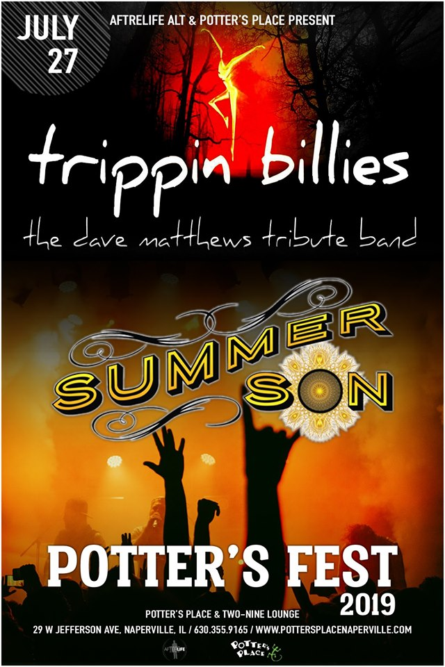 3rd Annual Potter's Fest W Trippin Billies & Summer Son