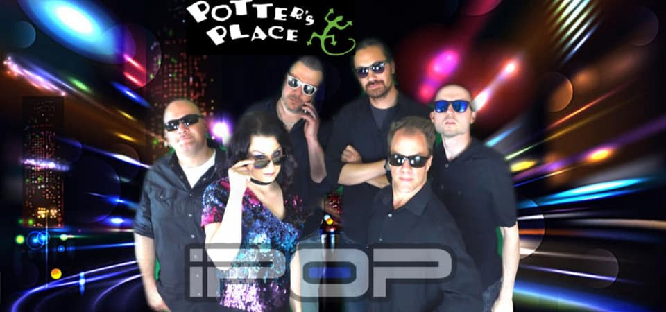 iPop Party on the Patio at Potter's Place!
