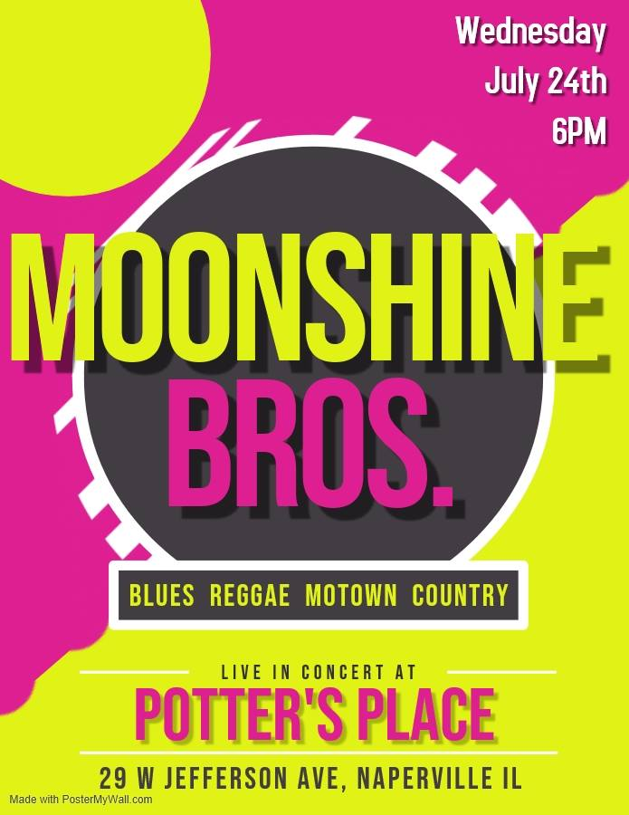 Moonshine Bros. live at Potter's Place!