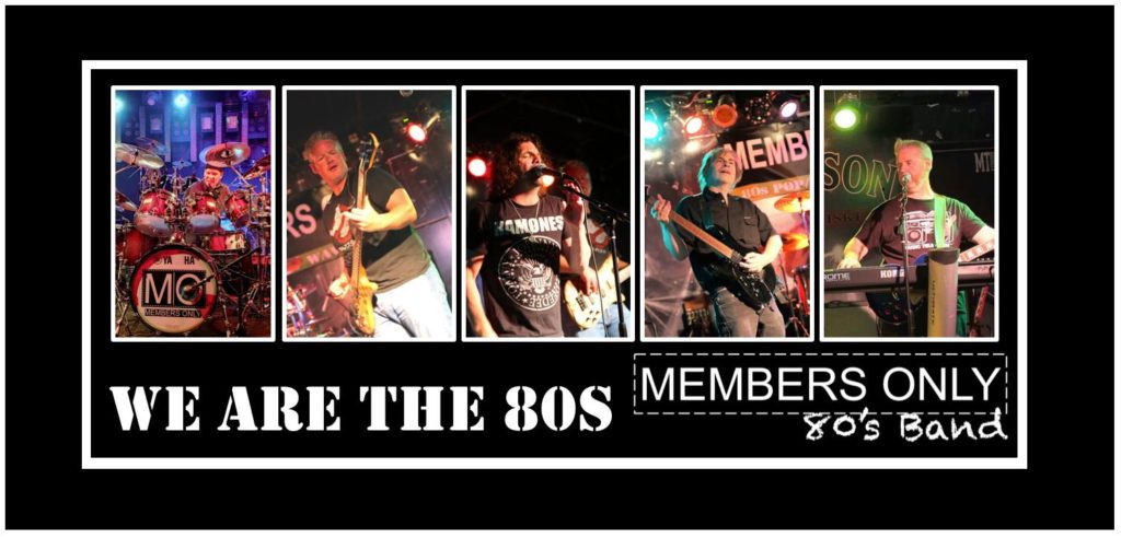 Members Only-Ultimate 80's Cover Band