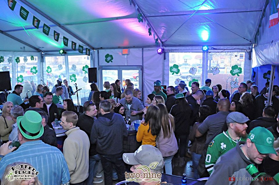 Unofficial St. Pat's Tent Party